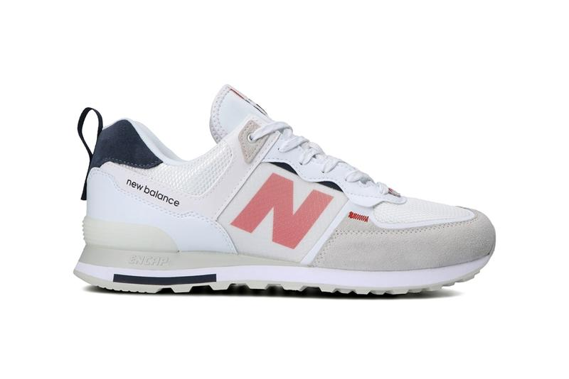 New Balance ML574IST ISE White Black menswear streetwear kicks shoes runners trainers footwear spring summer 2021 collection ss21 release