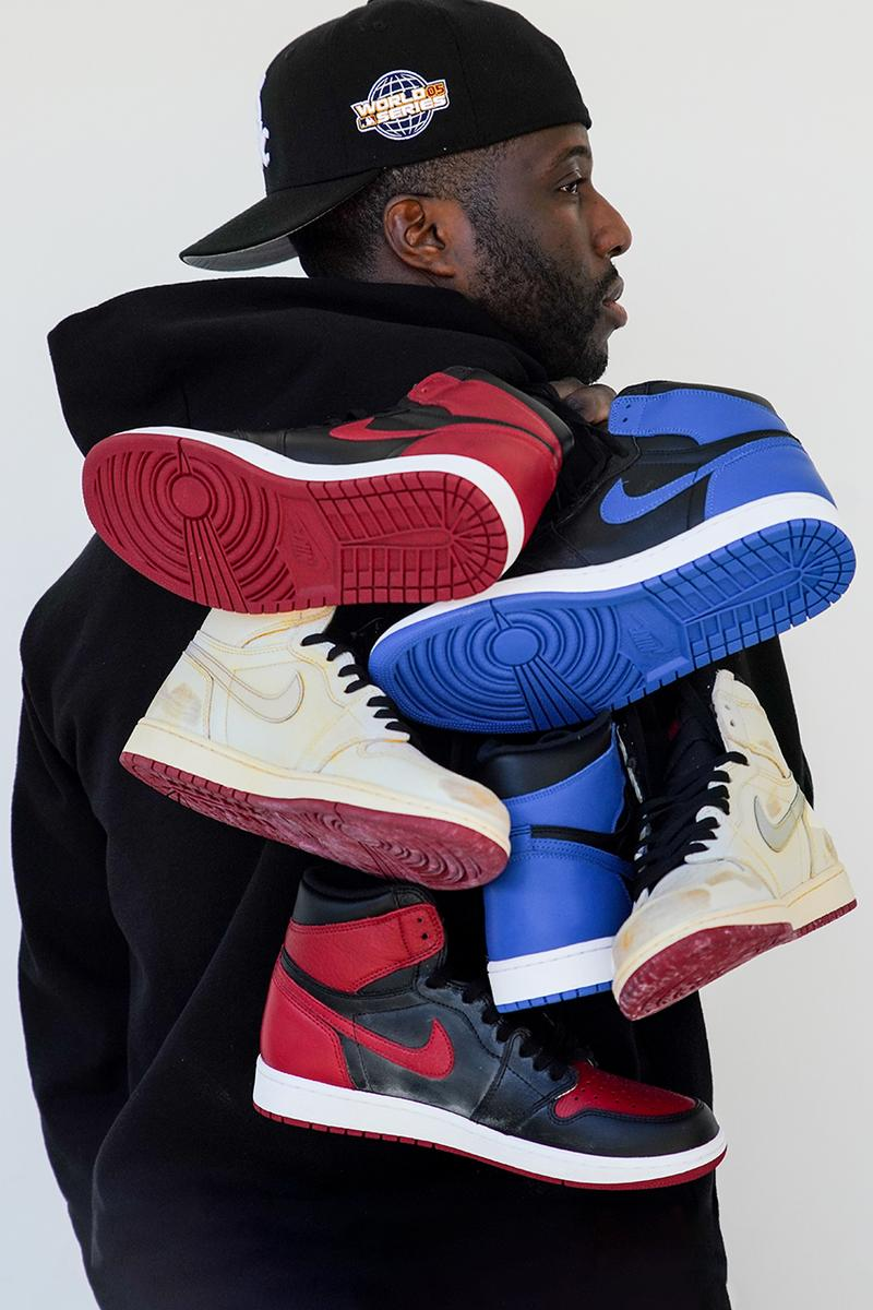 sole mates nigel sylvester air michael jordan 1 bmx collaboration interview release date info photos price store list buying guide