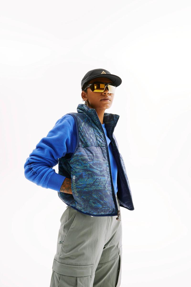 Nike acg all conditions gear spring summer 2021 ss21 clothing nasu air sneaker release date info buy website price jacket pants shirt glasses hats vest