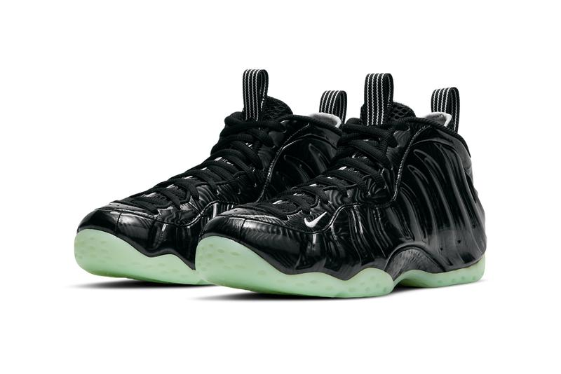 nike sportswear basketball air foamposite one all star CV1766 001 black barely green official release date info photos price store list buying guide