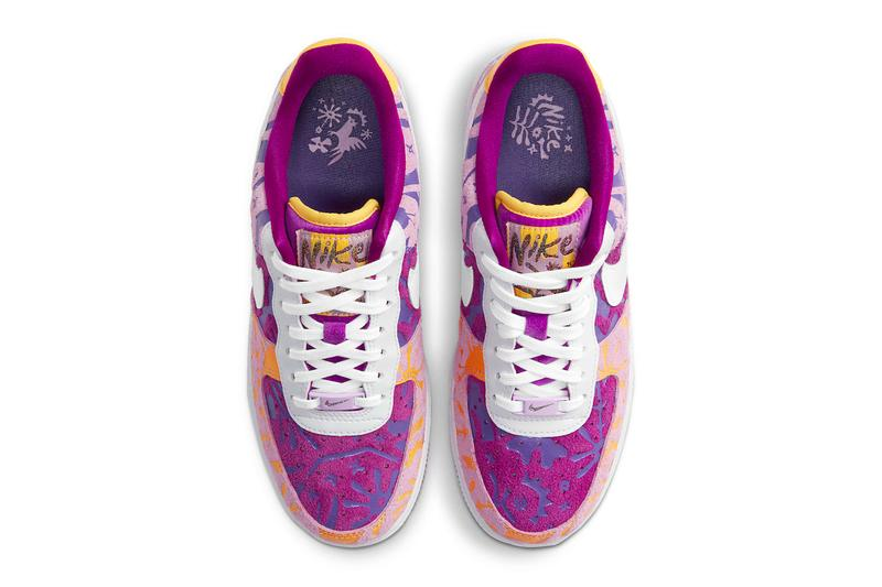 Nike Air Force 1 Red Plum dd5516 584 womenswear streetwear kicks shoes trainers sneakers silhouettes af1 spring summer 2021 international womens day info