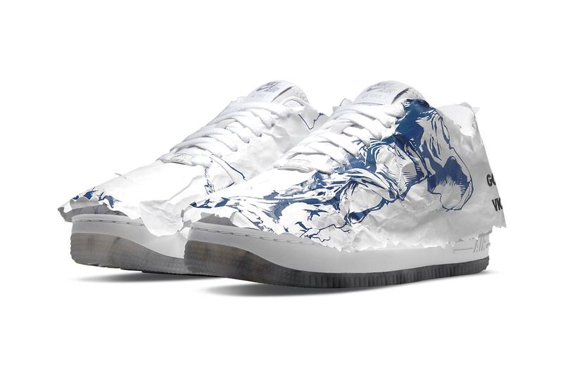 Nike Air Force 1 Shadow Goddess of Victory Paper Wrapped Official Look Release Info DJ4635-100 Buy Price
