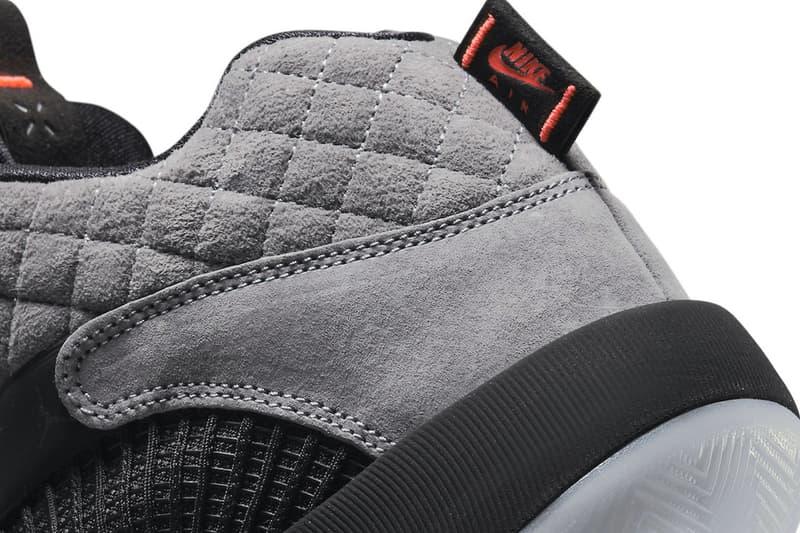 nike air jordan 35 fear black dj6166 006 menswear streetwear kicks sneakers trainers runners silhuoettes aj35 shoes footwear spring summer 2021 collection ss21 info