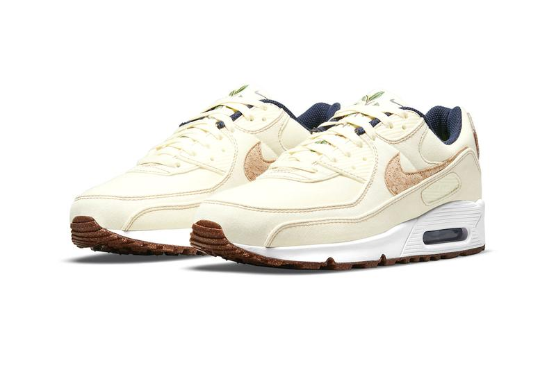 nike air max 90 cork dd0384 dd0385 100 menswear streetwear shoes sneakers trainers runners kicks footwear spring summer 2021 ss21 info