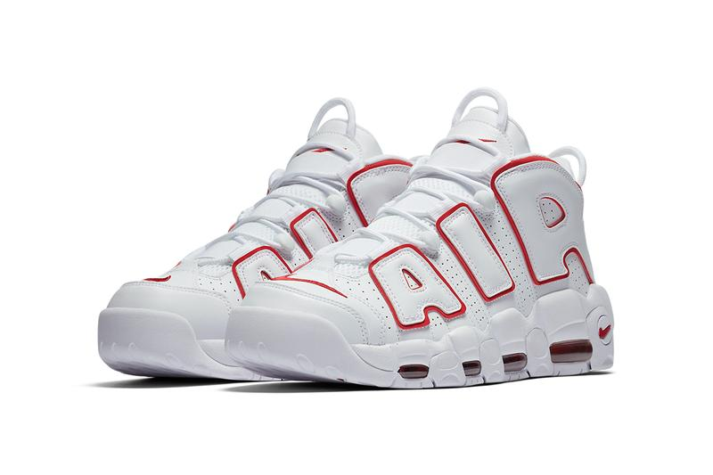 nike air more uptempo white varsity red renowned rhythm 921948 102 release date info store list buying guide photos scottie pippen price