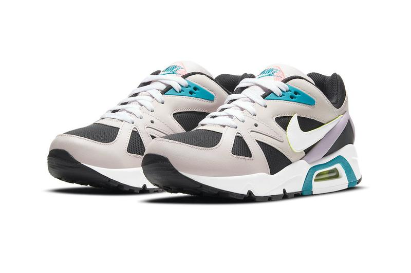Nike Air Structure Triax 91 New Retro Colorway Black/Platinum Violet-Bluster-White Air Max Nike Sportswear Sneakers Kicks Upper Midsole constructed cz1527-001