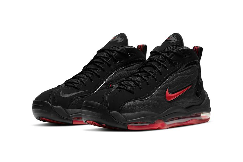 nike sportswear air total max uptempo bred black red CV0605 002 official release date info photos price store list buying guide