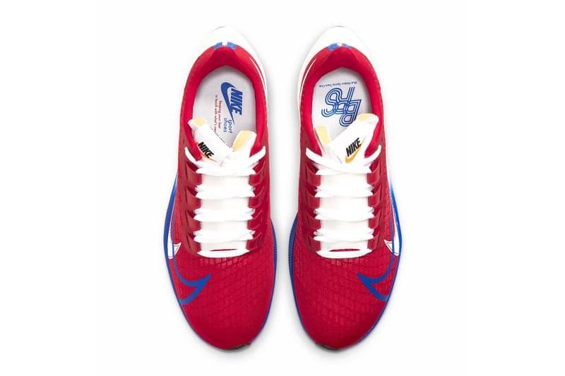 Nike Air Zoom Pegasus 37 Premium White Gym Red Sail Electric Royal CQ9908 100 600 menswear streetwear kicks shoes sneakers trainers runners kicks info