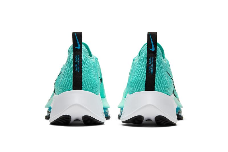 nike air zoom tempo next% hyper turquoise chlorin blue white black CI9923 300 release date info store list buying guide price photos