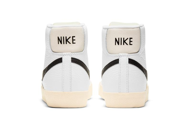 nike blazer mid 77 barcode DD6621 100 smoke grey white particle grey release info date store list buying guide price photos fenom