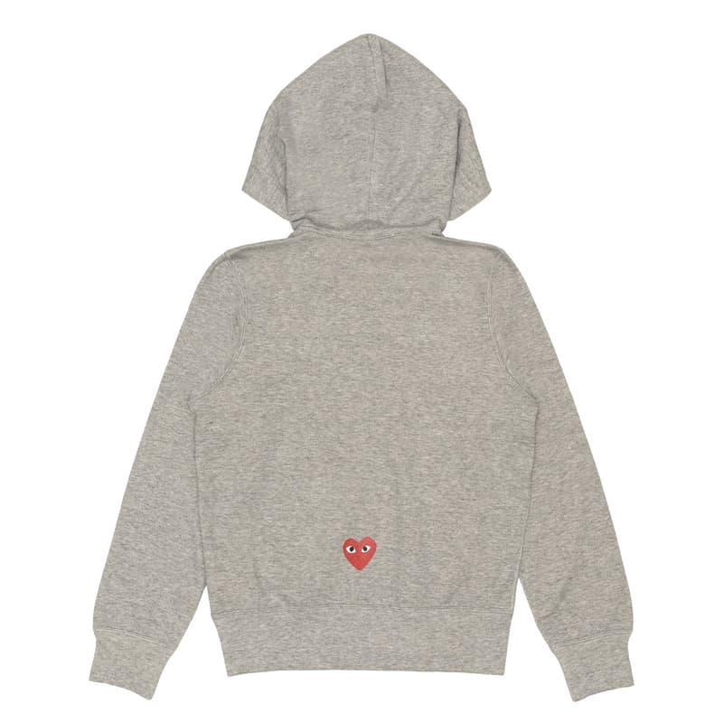 Nike x COMME des GARÇONS PLAY Collaboration items ginza drop dover street market february 19 2021 hoodie tee shirt together capsule swoosh heart logo  Filip Pągowski