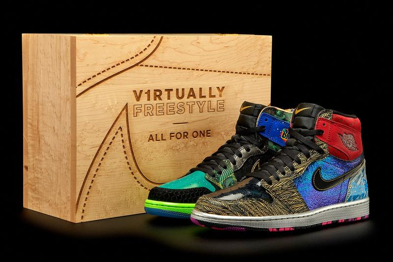 Nike Doernbecher Freestyle Air Jordan 1 Retro High OG What The Auction Suspicious Bidding Halted Info Official Look Release Buy Price