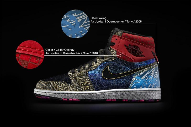 Nike Doernbecher Freestyle Air Jordan 1 Retro High OG What The Official Look Release Info Buy Price