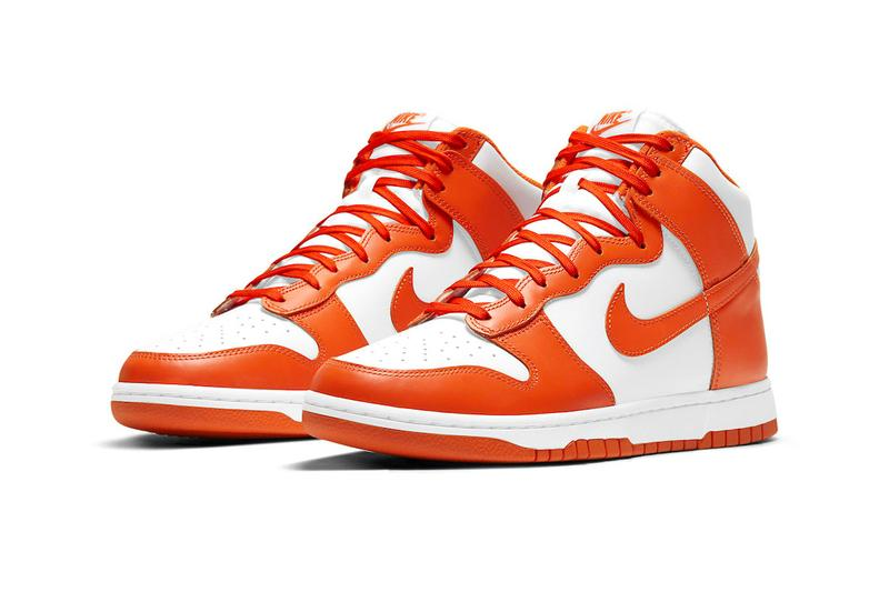 Nike Dunk High 2021 Syracuse Official Look Release Info DD1399-101 Buy Price Blaze