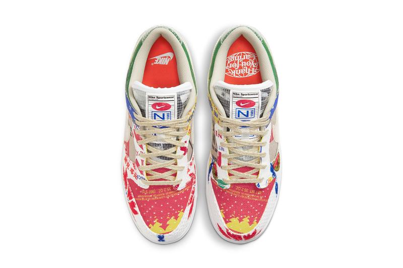 nike sportswear dunk low city market coffee rice bags blue ribbon sports DA6125 900 official release date info photos price store list buying guide
