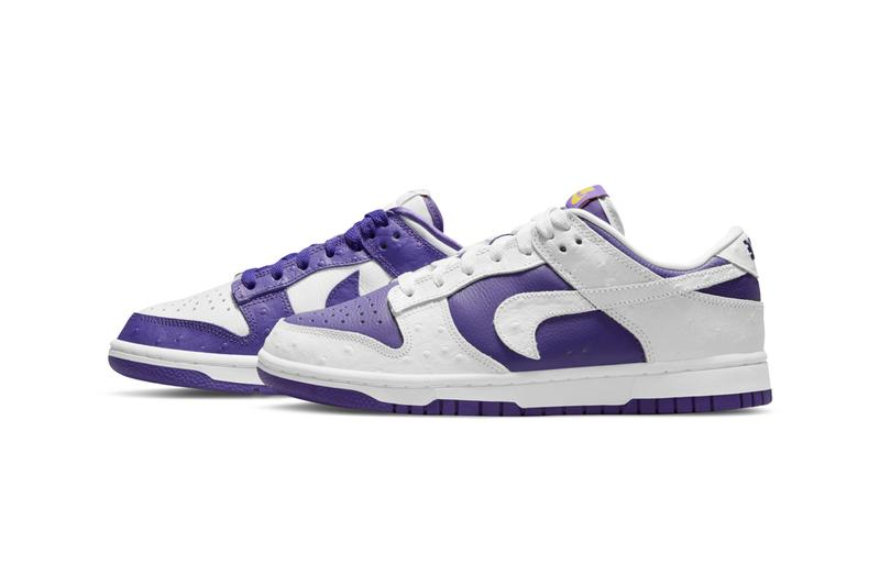 nike sportswear dunk low flip the old school white purple tissue paper city attack official release date info photos price store list buying guide