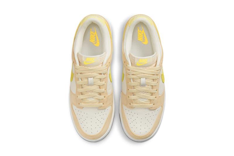 nike dunk low lemon drop womens DJ6902 700 sail opti yellow zitron release info date store list buying guide photos