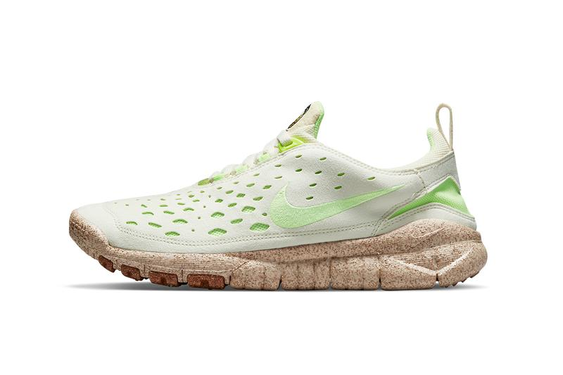 nike free run trail pineapple coconut milk lime glow metallic gold CZ9079 100 release date info store list buying guide photos