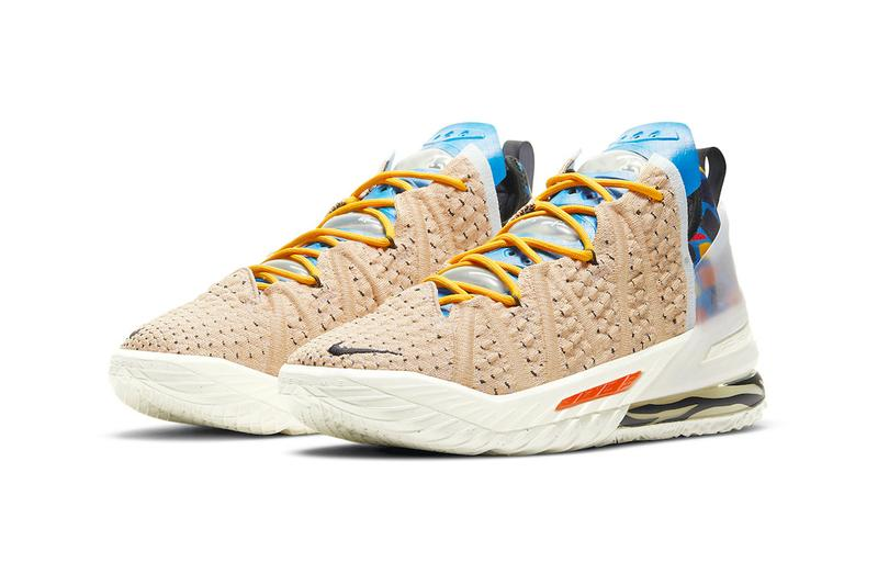 Nike LeBron 18 Multi Color cw3156 900 menswear streetwear animal prints king james basketball signature shoe footwear sneakers trainers runners kicks ss21 spring summer 2021 collection