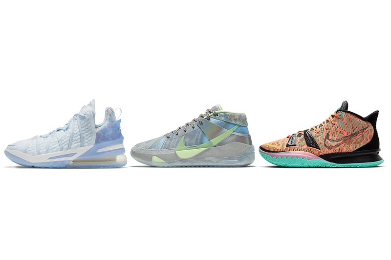 """Nike Basketball Shares Official Look at LeBron 18, KD 13 and Kyrie 7 """"Play For The Future"""""""