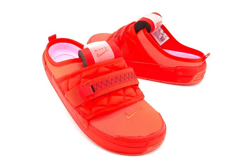nike team orange offline mule indoor sneaker footwear slipper comfortable swoosh bright covid coronavirus lockdown