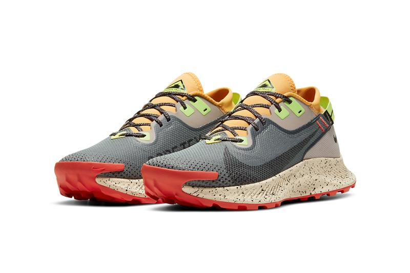 nike running pegasus trail 2 gore tex CU2016 002  smoke grey college tan green black red official release date info photos price store list buying guide