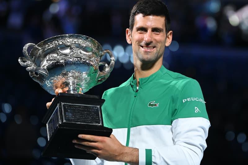 Novak Djokovic Defeats Daniil Medvedev Wins Ninth Australian Open Title Roger Federer Melbourne GOAT Rafael Nadal 18th Grand Slam Tennis Champion