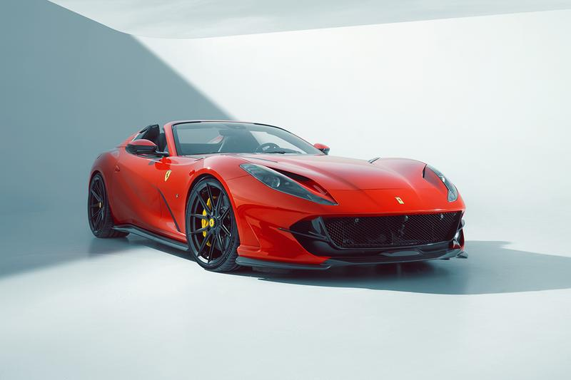 novitec germany refinement tuning workshop ferrari 812 gts upgrade kit vossen forged wheels 840 horsepower v12 engine