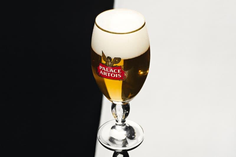 Palace Skateboards Stella Artois Partnership Beer Teaser Collaboration Palace London Fashion Ciroc Alcohol Belgian Beer