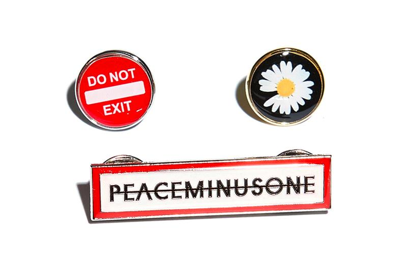 PEACEMINUSONE First 2021 Release Info G-Dragon Leather Racing Jacket Fleece Jacket Down Jacket Crewneck Knit Cap Ring Necklace Pin Pop Up Grip