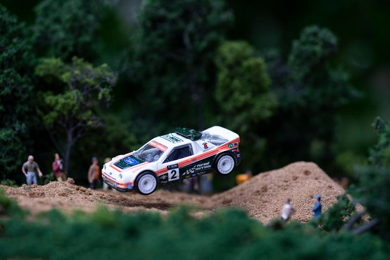 Period Correct x Hot Wheels Ford RS200 Lancia 037 Rally Car Diecast Model Toy Collectors Item Livery Racing Clothing Capsule Collection Automotive Lifestyle Goods Rare Memorabilia