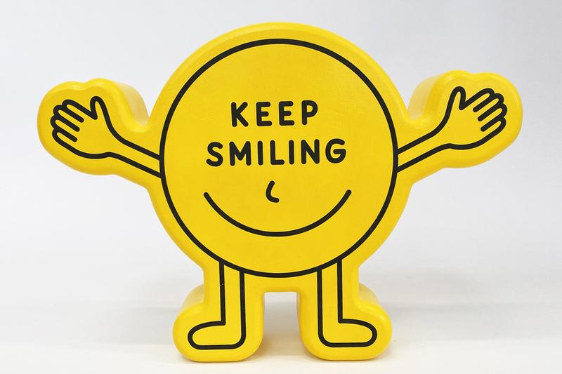 pieter ceizer woody sculptures valentines day yellow pink keep smiling love official release date info photos price store list buying guide