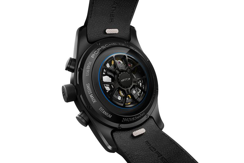 Porsche Design Offers New Chronograph Exclusively to Owners of the Latest Porsche Supercar