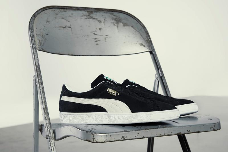 PUMA Suede XXI 2021 Edition Classic Retro Sneaker Release Information Lauren London LaMelo Ball YBN Cordae Campaign Low Top Suede Uppers Rubber Classic Gold Foil OG