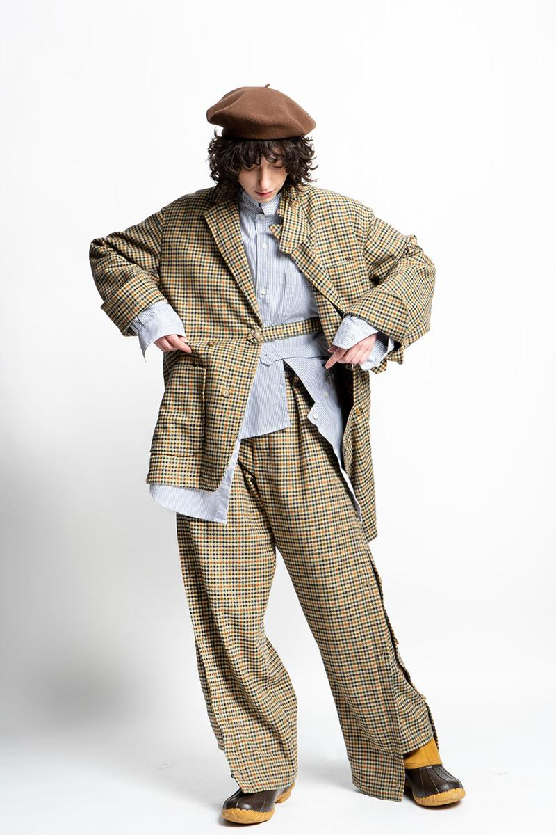 RANDT Fall/Winter 2021 Collection Lookbook fw21 menswear nepenthes new york
