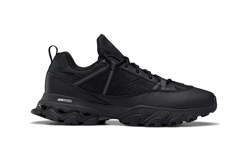 reebok dmx trail shadow all black approach reworked sneakers trainers hiking boot footwear fashion retro vintage outdoor utilitarian