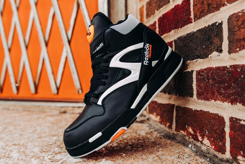 reebok pump omni zone ii 2 dunk contest shoes no look retro black white orange official release date info photos price store list buying guide g57539