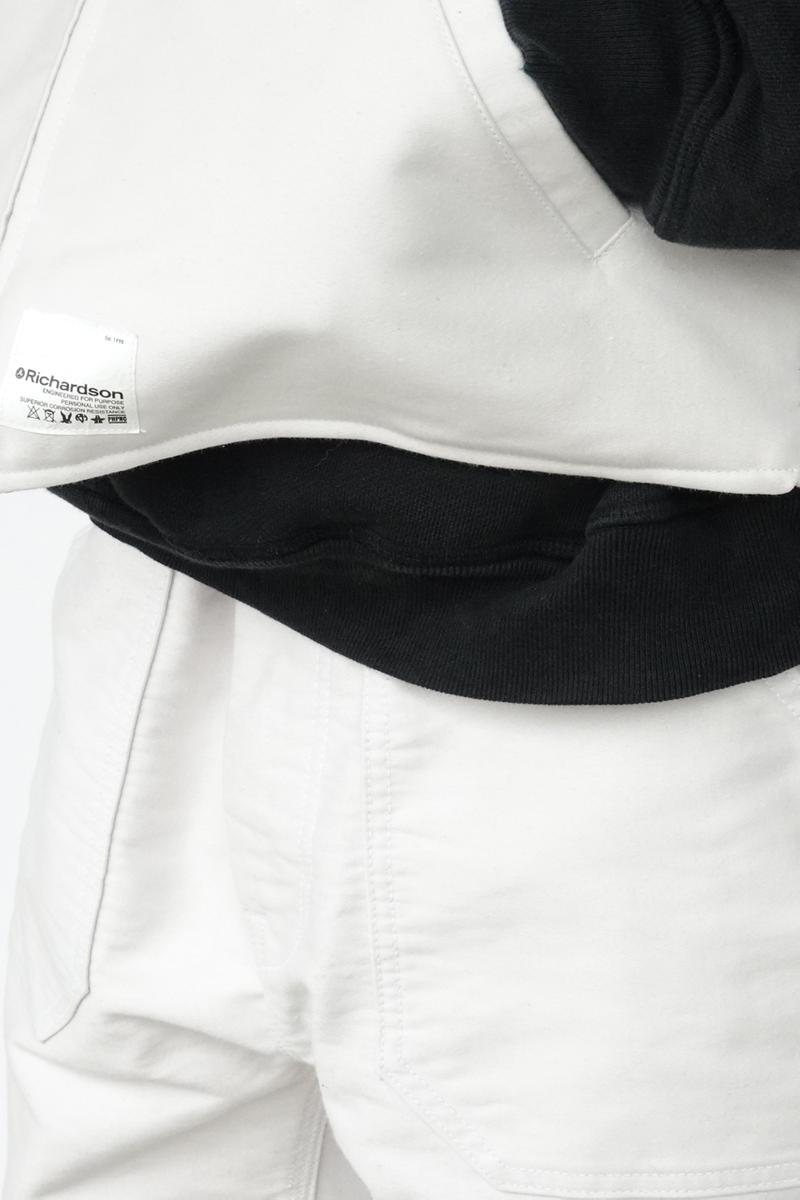 Richardson Spring/Summer 2021 1st Delivery Drop Collection Utility Wear Prepper 'Richardson Magazine' Lookbooks Pins Reversible MA-1 Jacket Moleskin Vest Pants Suspenders Carabiner