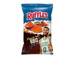 Jayson Tatum Debuts His Ruffles Flamin' Hot BBQ Chip Flavor