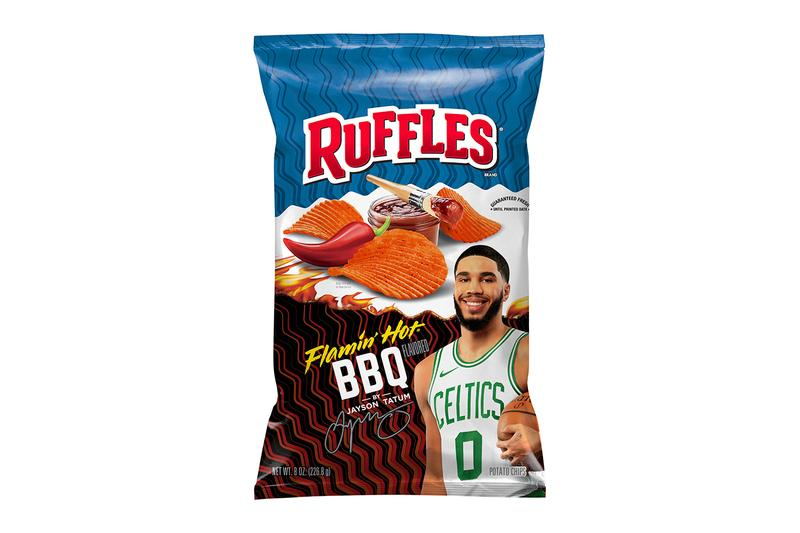 Ruffles Flamin' Hot BBQ  Anthony Davis Jayson Tatum T-Pain News NBA commercials BBQ snacks All-Star Game PepsiCo's Frito-Lay
