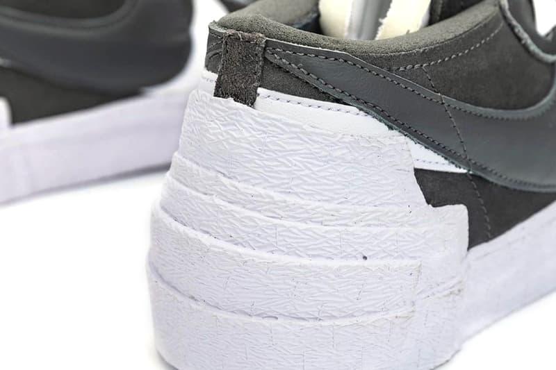 sacai Nike Blazer Low Dark Grey Full Look DD1877-002 Release info Buy Price Date
