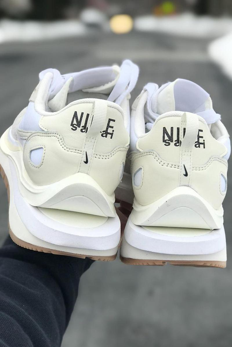 sacai nike vaporwaffle white gum release info date store list buying guide photos chitose abe
