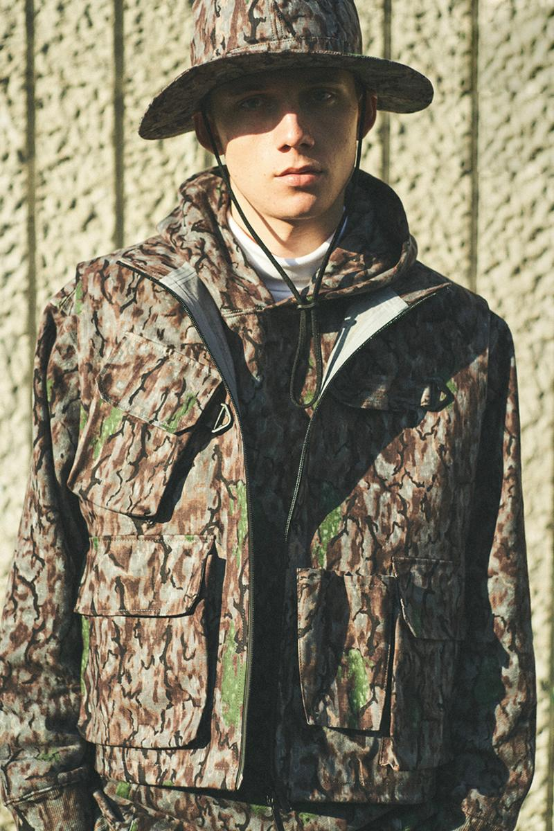 South2 West8 Fall Winter 2021 Lookbook menswear streetwear jackets shirts coats pants trousers outdoors fw21 collection info