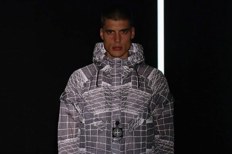 stone island Reflective Grid on Lamy-TC spring summer 2021 moncler details first look video release information