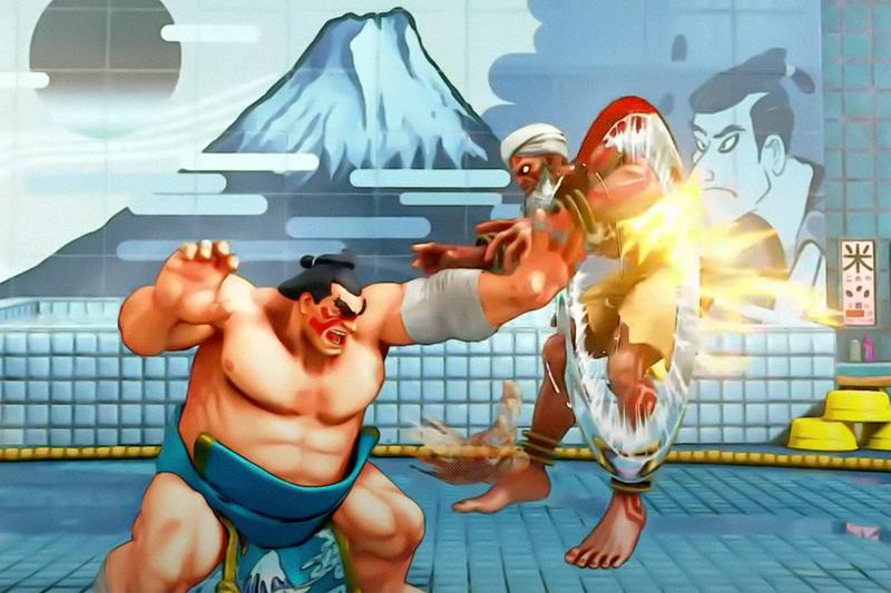 'Street Fighter II' Rising Sun background removal news Imperial Nationalist gaming Street Fighter II Capcom E. Honda Fei Long Zangief flags
