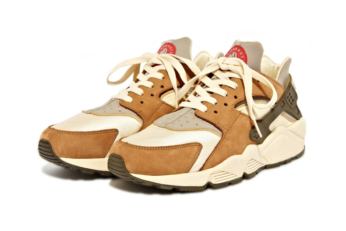 Stüssy x Nike Air Huarache LE Spring 2021 Collaboration Rumor Speculation Drop Date Closer First Look Tinker Hatfield 1991 30th Anniversary OG Shape