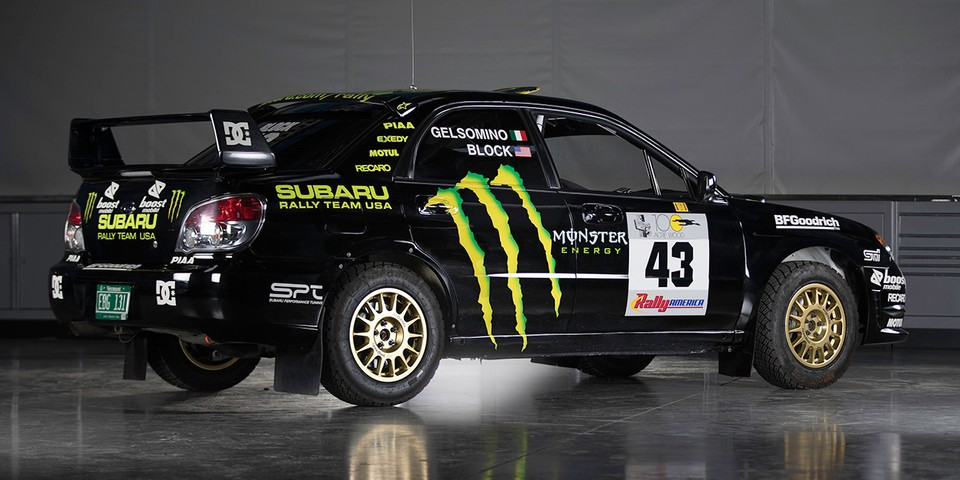 2002 Subaru WRX STi Rally Car Owned by Ken Block Is Up for Auction