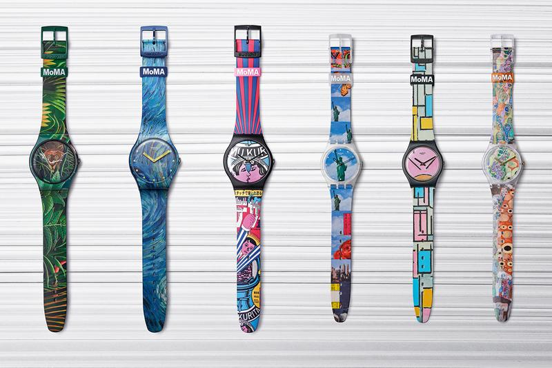 Swatch and New York's Museum of Modern Art Collaborate on New Six-Watch Collection