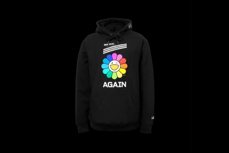takashi murakami yuzu rainbow flower hoodie restir