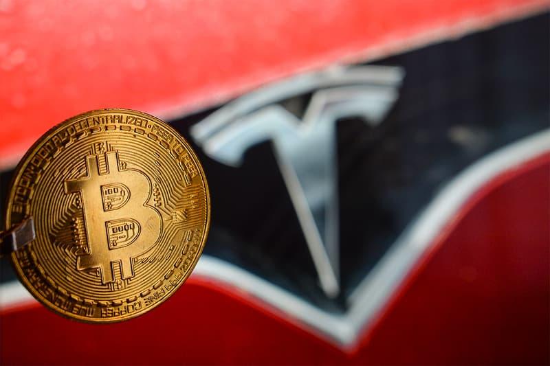 tesla elon musk bitcoin cryptocurrency market value share price plummet drop decline decrease 25 percent